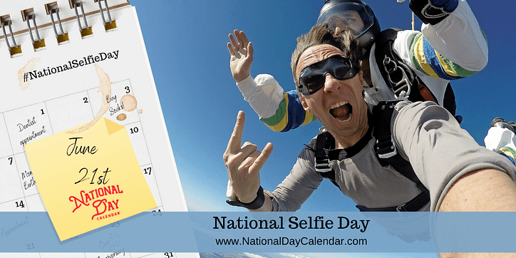 1June21NATIONAL-SELFIE-DAY